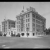 Hotel Chancellor, West 7th Street and South Berendo Street, Los Angeles, CA, 1925