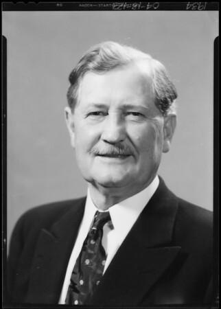 Mr. Bragg Senior, Southern California, 1934