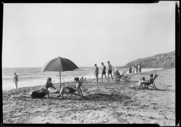 Tahiti Beach, Southern California, 1927