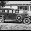 Nash sedan, Ida Hahn, owner & assured, Southern California, 1934
