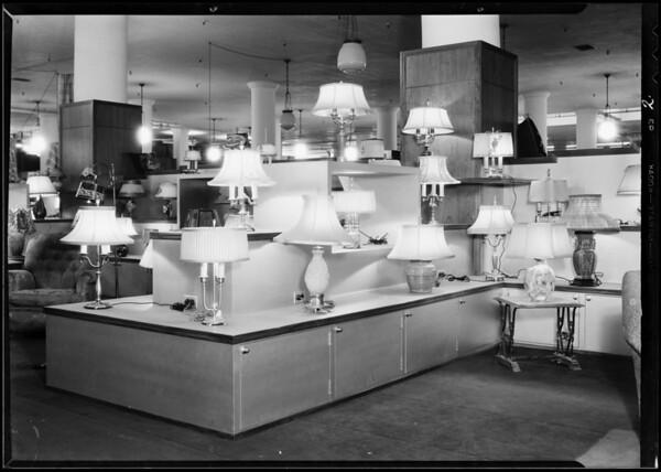 Lamp department, Southern California, 1931