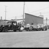 Truck and tractor wreck, Los Angeles, CA, 1931