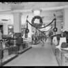 Christmas center aisle, J.W. Robinson, Southern California, 1925