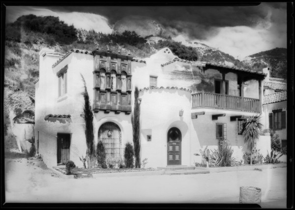 8303 Valley View, Southern California, 1928