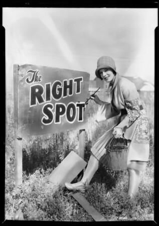 Betty Garry at Magnolia Park, Burbank, CA, 1928