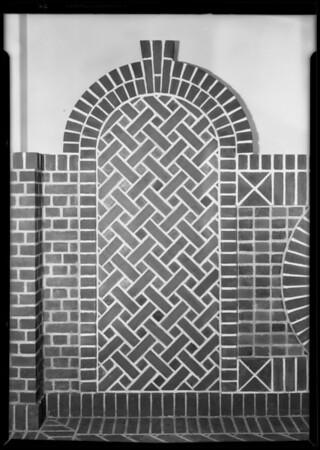 Simmons Brick, Southern California, 1928