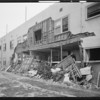 Damage to building at 1421 Valencia Street, Los Angeles, CA, 1934