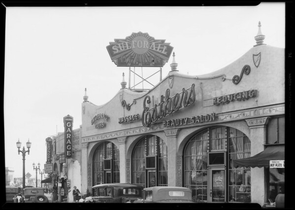 Sulforall sign, Southern California, 1932