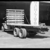 Truck, Morris Bros. Fruit Co. owners, Southern California, 1934