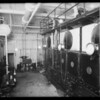 Boiler room and switches, Broadway Department Store, Los Angeles, CA, 1925