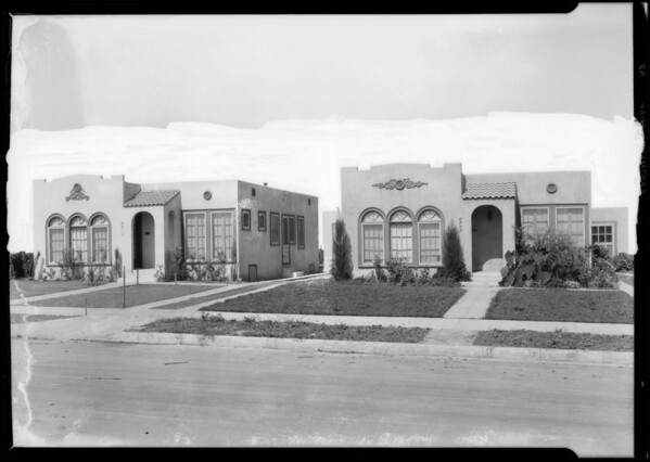 6707 & 6711 3rd Avenue, Los Angeles, CA, 1927