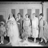 Fashion show models, Los Angeles, CA, 1926