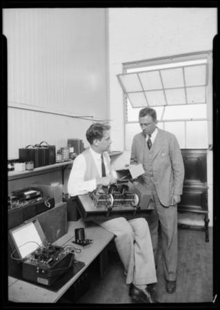 Gilfillan Radio, Southern California, 1926