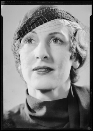 Miss Merrill, Barker Brothers, Southern California, 1933