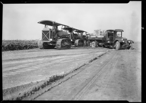 Plow, Santa Ana, CA, 1932