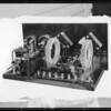 Radio chassis display, Southern California, 1925