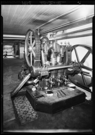 Machinery, Southern California, 1934