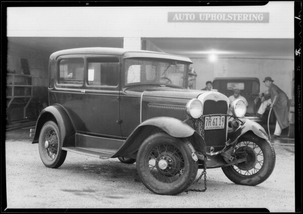 Ford and Rickenbacker, Southern California, 1932