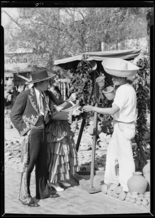 Fiesta publicity, Southern California, 1931