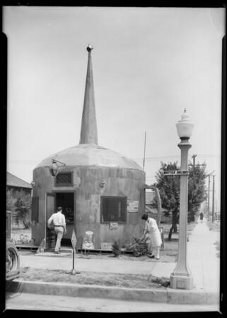Oil Can Restaurant, Montebello, CA, 1928