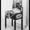 Demonstration table, Pennzoil, Southern California, 1931