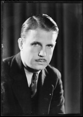 Portrait of Mr. Tarr, Southern California, 1932