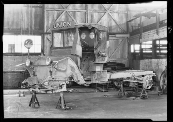 Union Oil Company truck, Southern California, 1932