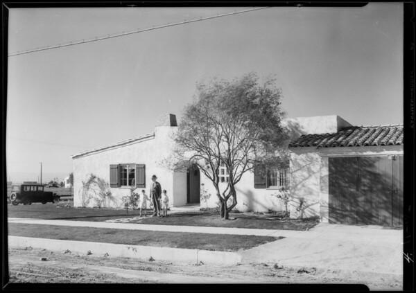 Leimert Park, Los Angeles, CA, 1927