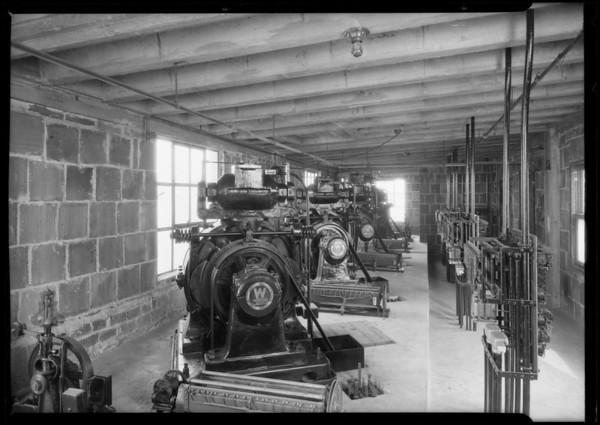 Electric motors and generators, Broadway Department Store, Los Angeles, CA, 1925
