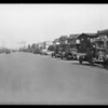 A block of 1600 Crenshaw Boulevard, Los Angeles, CA, 1928