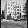 Salona apartments, 1726 North Kenmore Avenue, Los Angeles, CA, 1934