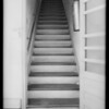 Rear stairway at 336 1/2 & 338 1/2 South Wilton Place, Los Angeles, CA, 1933