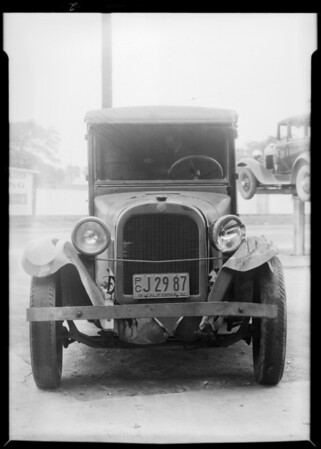Johnson Cake Co. truck, Southern California, 1932