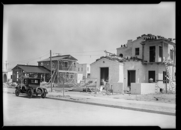 Leimert Park homes, Los Angeles, CA, 1928