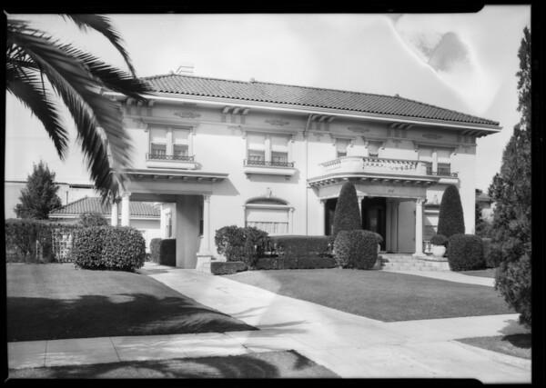 Home, 1717 Virginia Road, Los Angeles, CA, 1928