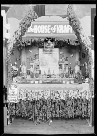 Kraft display, 2111 Brooklyn, Southern California, 1933