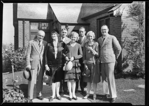 """""""Home Towners"""" at View Park, Los Angeles, CA, 1927"""