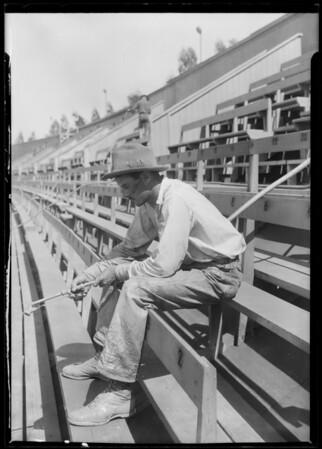 Los Angeles Coliseum seats, Los Angeles, CA, 1925