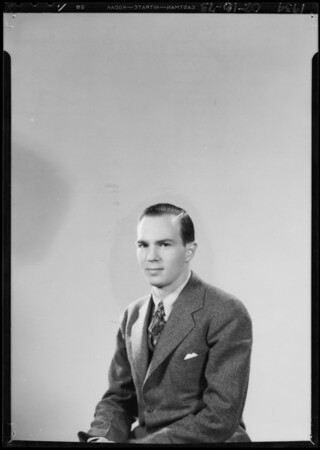 Portrait of Mr. Sammis, Southern California, 1934
