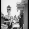 Driveway at 1919 Hillcrest, Southern California, 1934