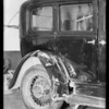 Chandler sedan, Earl F. Chapman, owner, Southern California, 1932