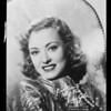 June Gale, Southern California, 1936