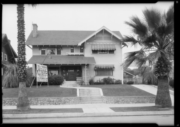 Home at 1947 South La Salle Avenue, Los Angeles, CA, 1925