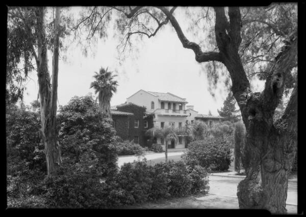 Home of Zane Grey at 280 East Mariposa Street, Altadena, CA, 1925