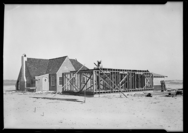 Houses at Pierpont Bay, Ventura, CA, 1926