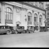 Yellow Cabs at Philharmonic Auditorium, Los Angeles, CA, 1926