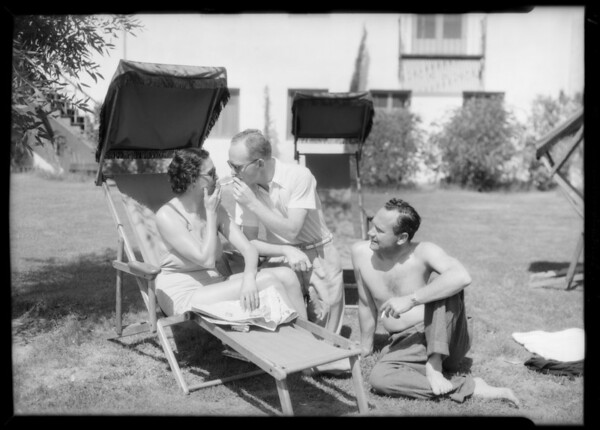 Bauning, Palm Springs, CA, 1934