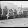 Truck & trailer fire, 1710 South Flower Street, Los Angeles, CA, 1933