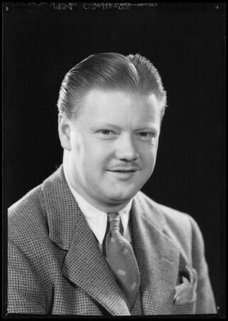 Portrait of Mr. J. W. Hunt, Southern California, 1934