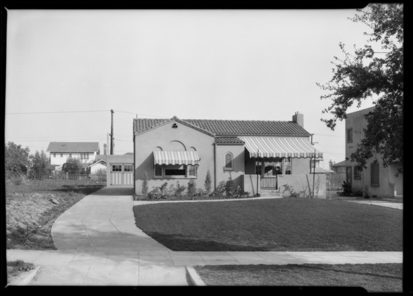 Home at 1186 North Holliston Avenue, Pasadena, CA, 1926